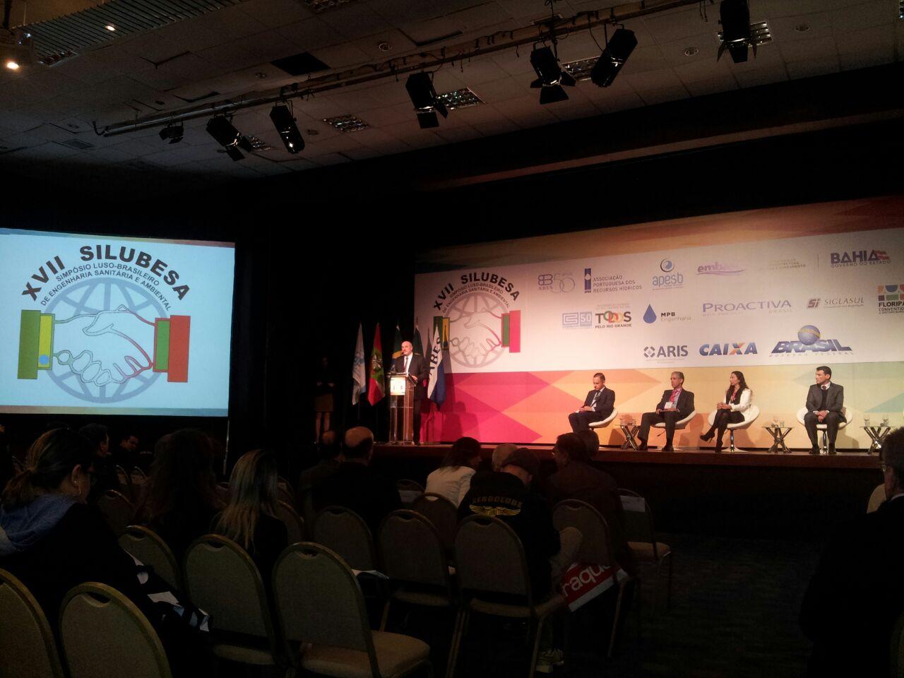 FNE e Senge-SC presentes no Simpósio Luso-Brasileiro de Engenharia Sanitária e Ambiental