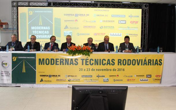 Modernas técnicas rodoviárias são tema de seminário na ACE