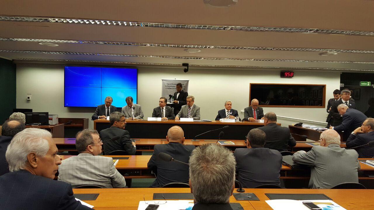 FNE e Senge-SC participam de reunião da Frente Parlamentar da Engenharia nesta quinta-feira