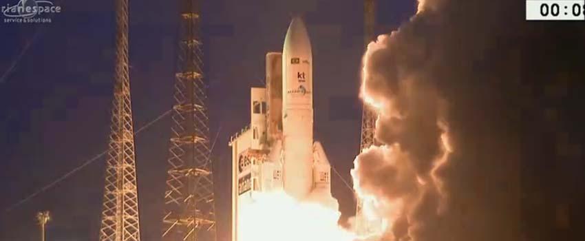 Após onda de protestos na Guiana, satélite brasileiro é lançado