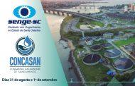 Florianópolis será sede do 1º CONGRESSO CATARINENSE DE SANEAMENTO