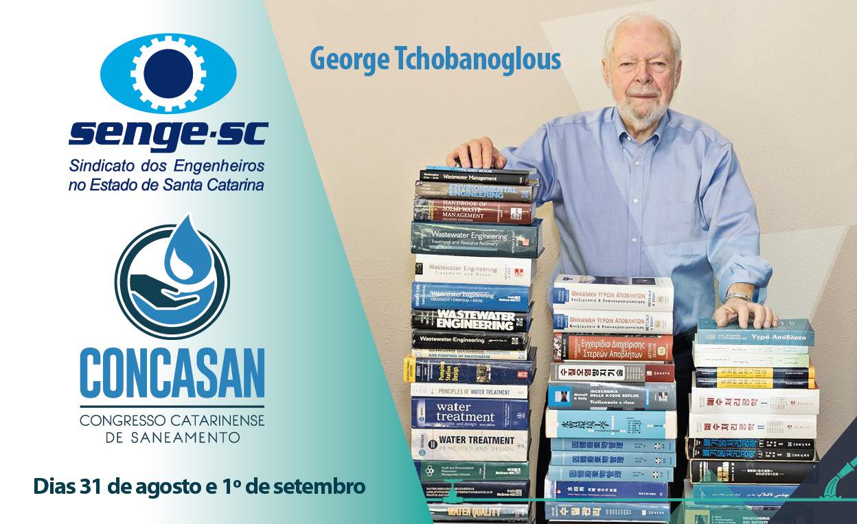 Veja quem são os palestrantes do Concasan: o maior evento de Santa Catarina sobre saneamento