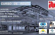 """CURSO """"REVIT"""", 28, 29 e 30 de setembro, Florianópolis/SC"""