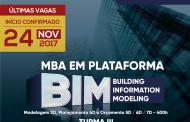 MBA EM PLATAFORMA BIM - MODELAGEM 3D, PLANEJAMENTO 4D E ORÇAMENTO 5D / 6D / 7D - 400h