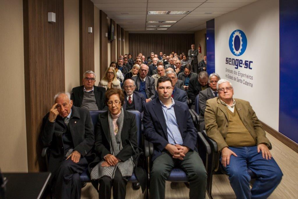 Engenharia perde Olavo Arantes, fundador do Senge-SC