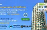 Curso Incorporação de edifícios -  16 a 19 de novembro de 2017