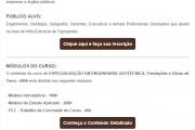 Especialização em Engenharia Geotécnica - 400h