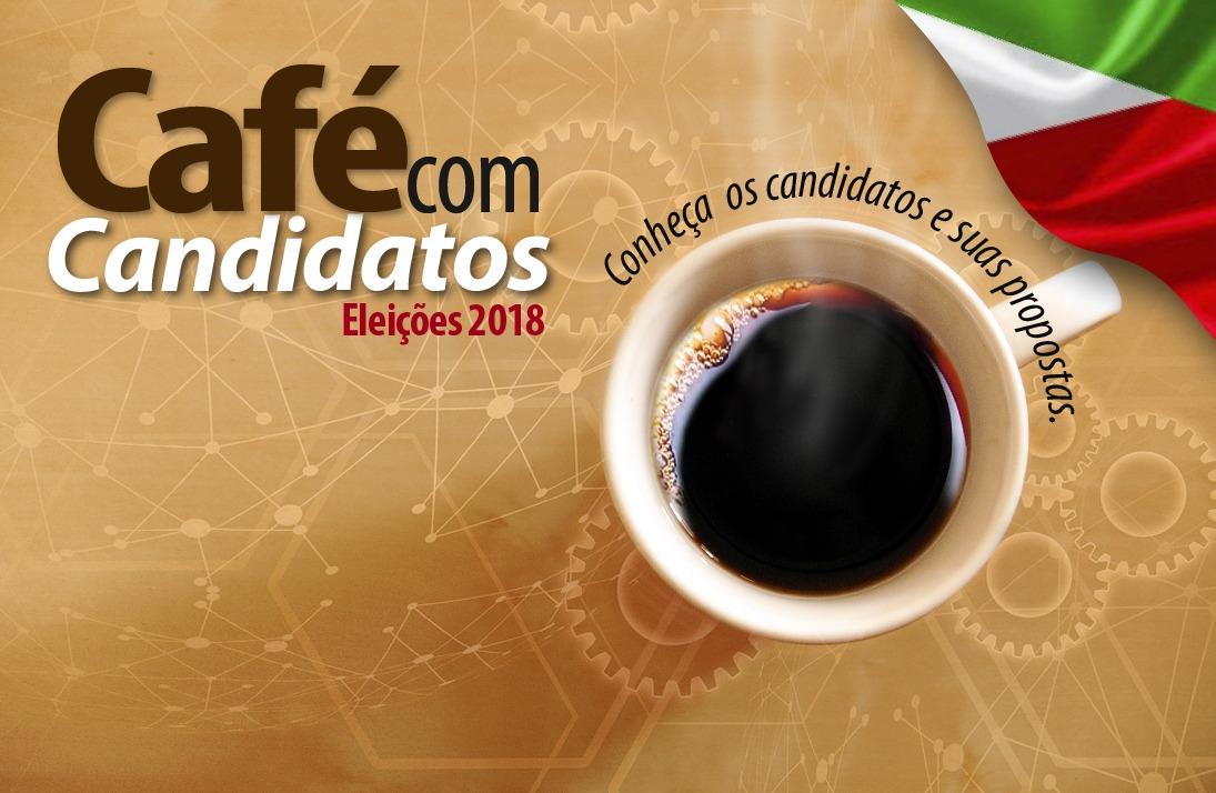 Comandante Moisés e Esperidião Amin participam do Café com Candidatos no Senge-SC na próxima semana