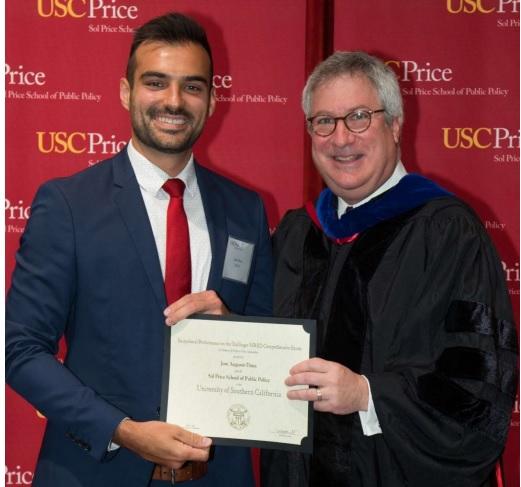 """Engenheiro catarinense obtém reconhecimento acadêmico de """"excepcional performance"""" em universidade dos EUA"""
