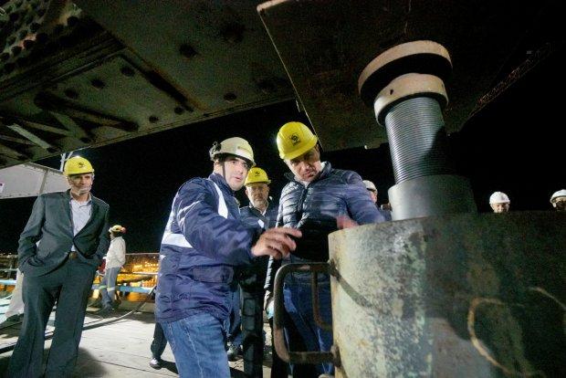 Primeira noite da transferência de carga da Ponte Hercílio Luz é concluída com sucesso