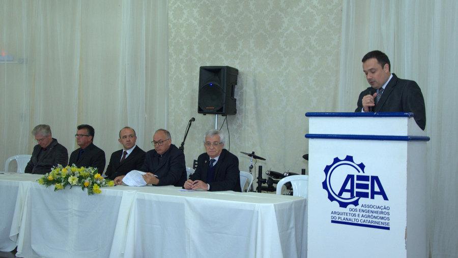 AEA da Serra Catarinense empossa nova diretoria