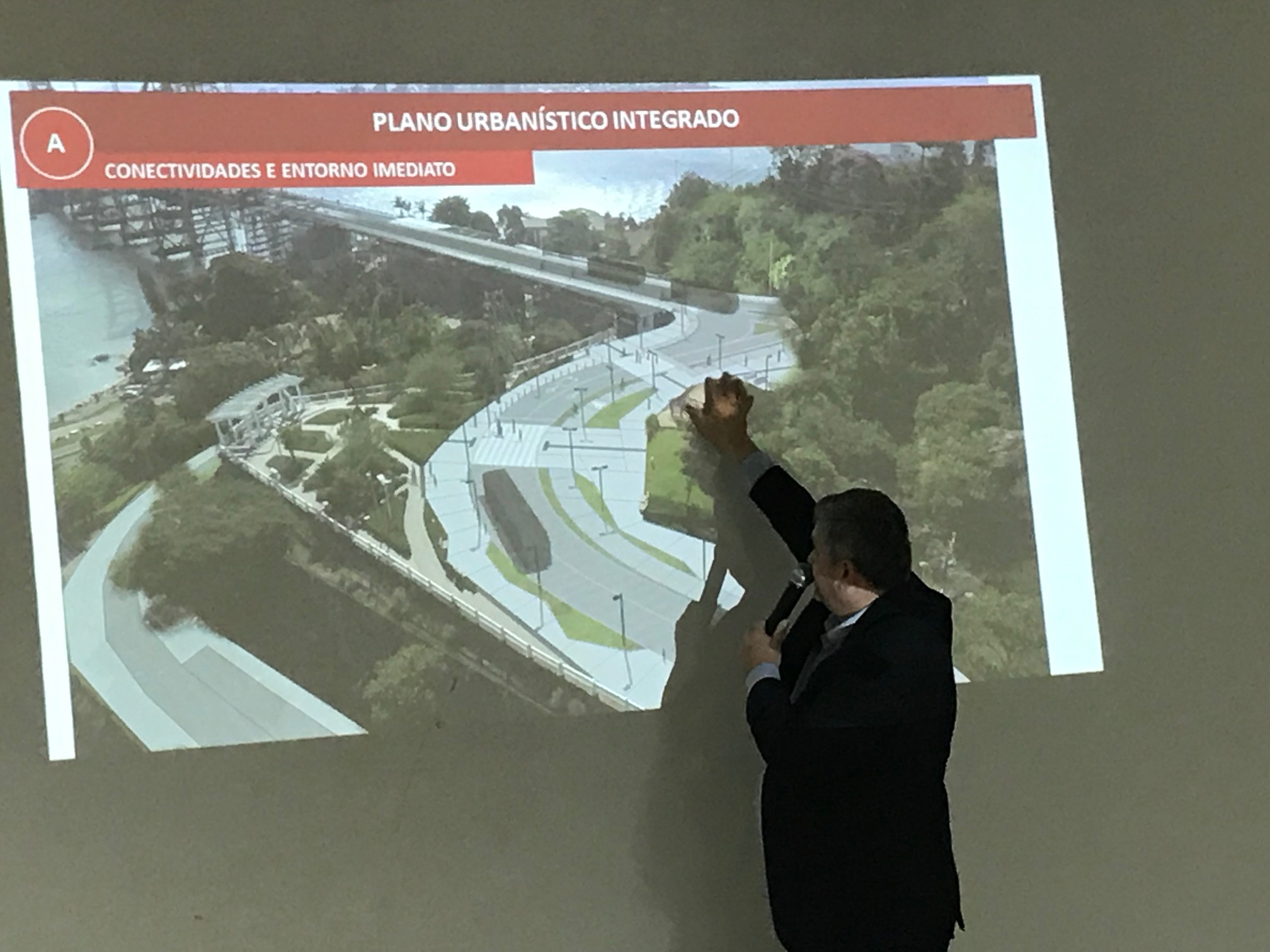Obras do entorno da Ponte Hercílio Luz mobilizam lideranças de Florianópolis