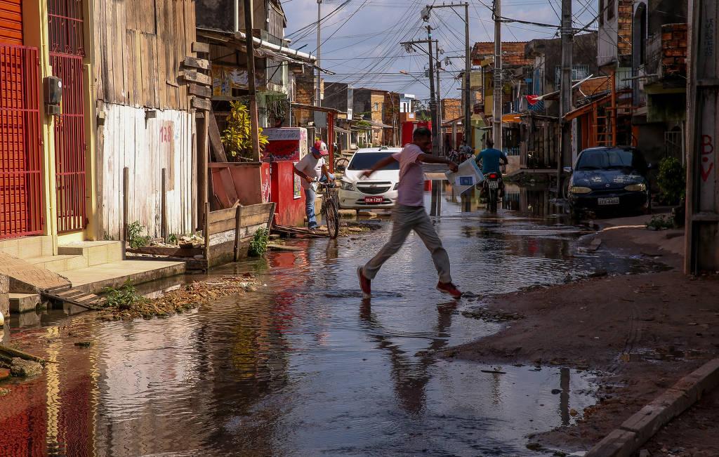 Mantido ritmo, Brasil vai atrasar em 30 anos meta de saneamento universal