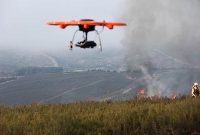 Uso de drones revoluciona o combate a incêndios