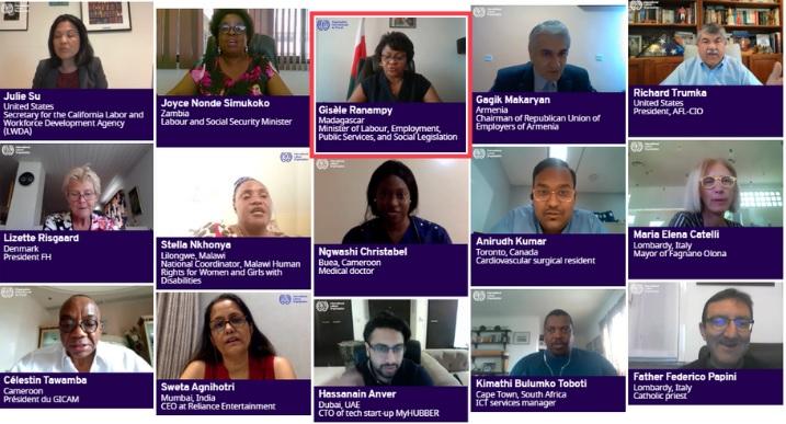 OIT lança plataforma com vídeos sobre impactos da COVID-19 no mundo do trabalho
