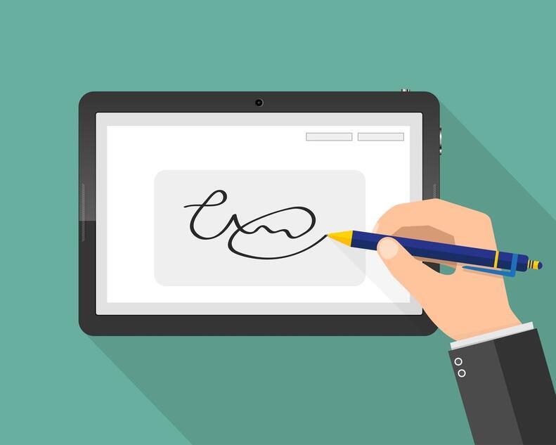 Sancionada a lei que amplia uso de assinatura digital