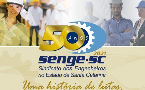 Senge-SC 50 anos