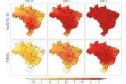 Projeções climáticas indicam que temperaturas no Brasil devem subir acima da média global