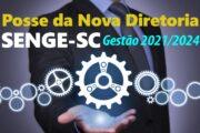 Nova diretoria do Senge-SC toma posse em 18 de outubro